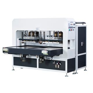 automatic sliding table plastic packing high frequency welding machine