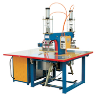 Foot step type high frequency welding machine for tent