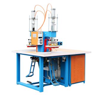 Pneumatic PVC & PET blister packing machine.plastic welding machine