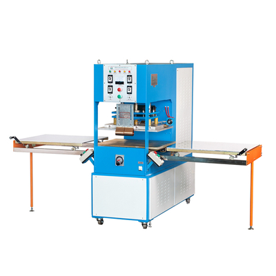 High frequency welding machine for catpet embossing